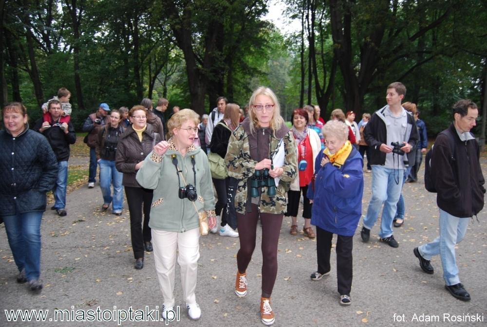 Europejskie Dni Ptaków w parku Skaryszewskim