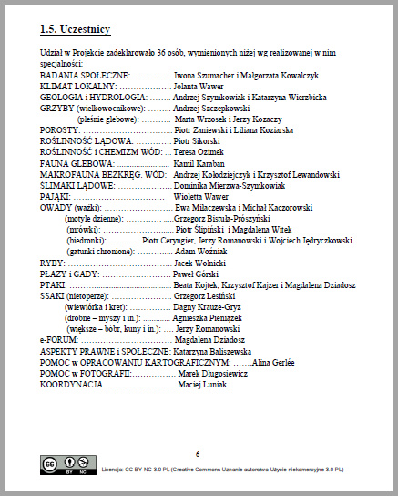Lista uczestników